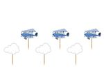 Cupcaketoppers - Little Plane, 6-pack