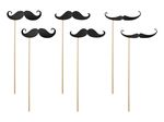 Photo Props - Moustache, 6 pack