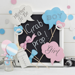 Photo Booth kit för Baby Shower