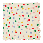 Servett stor, Spotty, 20-pack