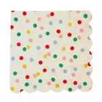 Servett liten, Spotty, 20-pack