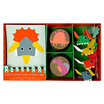 Cupcake kit, Dinosaurie, 24-pack