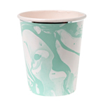 Mugg, Marble, mint, 8-pack