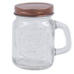 Mini Glass Jars - glasburkar - drinkglas - 4-pack