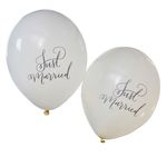 Ballonger - Just Married - 10 pack