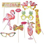 Photo Booth Props - Tropical Party