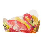 Food tray - Flamingo - 5 pack