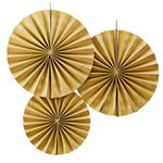 Pinwheels - Gold - 3-pack
