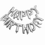 Ballonger - Happy Birthday - Silver