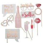 Team Bride - Photo Booth Props