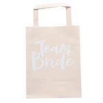 Team Bride - Party Bags - Påsar- 5-pack