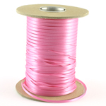 Satinband i metervara, Hot Pink, 3mm
