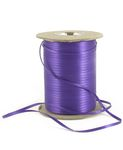Satinband i metervara, Purple , 3mm