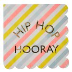 Servetter - Happy Bunny - Hip Hop Hooray - 16 pack