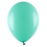 Pastellballong, Mint, 10 & 25-pack