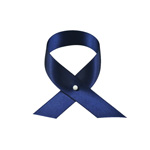 Satinband i metervara, Navy, 16 mm