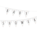 Vimpel med texten Baby Shower, Dots Multi