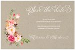 Save-the-date, Flowering Branches