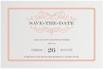Save-the-date, Fancy Elegance