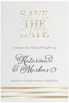 Save-the-date, Golden Stripes