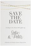 Save-the-date, Dotted Elegance