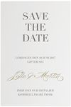 Save-the-date, Classic Devotion