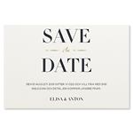 Save-the-date, Modern Stripes