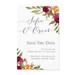 Save-the-date, Happy Flowers