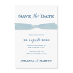 Save-the-date kort,<br>Blue Dream