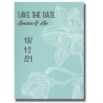 Save-the-date, Levigato aqua