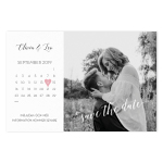 Save-the-date, Photo Calendar