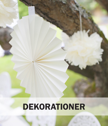 Dekorationer Baby Shower