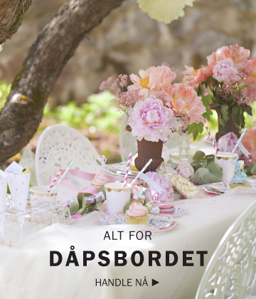 Alt for dåpsbordet