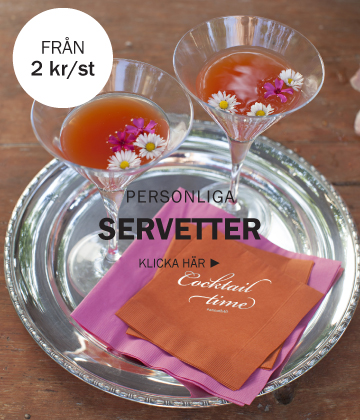Cocktail servetter