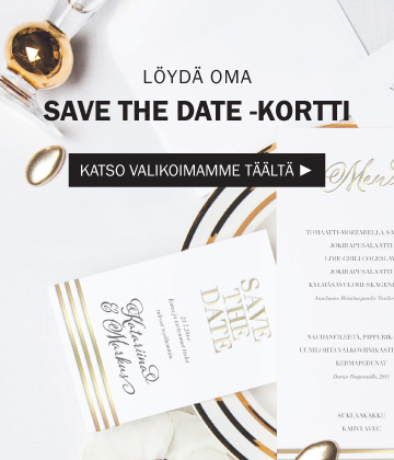 Save the date -kortti
