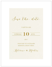 Save-the-date Levigato krem